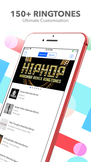 Marimba Ringtone Remixes On The App Store