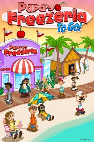 Papa's Freezeria To Go! screenshot 1