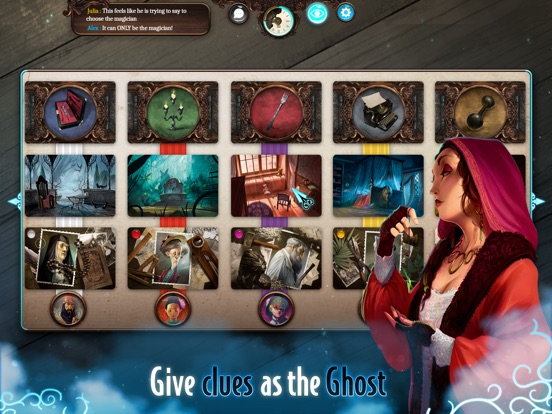 Screenshot #4 for Mysterium: A Psychic Clue Game