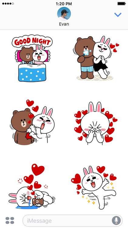 BROWN & CONY Sweet LOVE - LINE FRIENDS screenshot-3