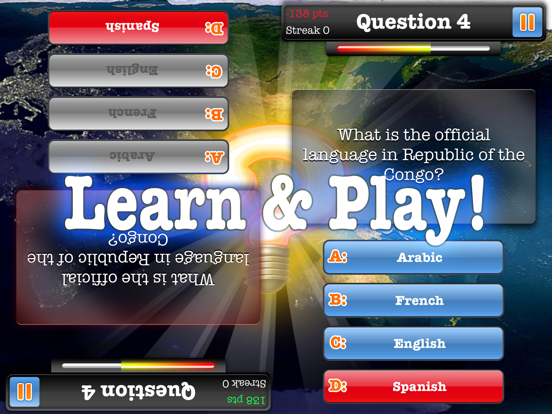 Geography Quiz Game 2017 – Multiplayer-ipad-3
