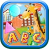 Kids shapes ABC toddler learning game