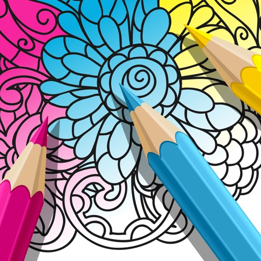 ColorMe - Adults Coloring Book by RMS Games for kids