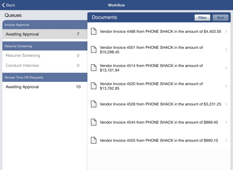 OnBase Mobile for iPad (Citrix Worx)