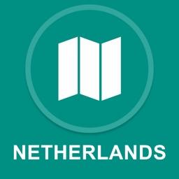 Netherlands : Offline GPS Navigation