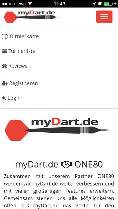 myDart.de screenshot 1