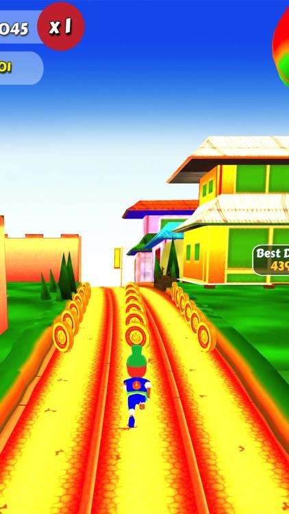 Ninja Run Subway Surf screenshot-4
