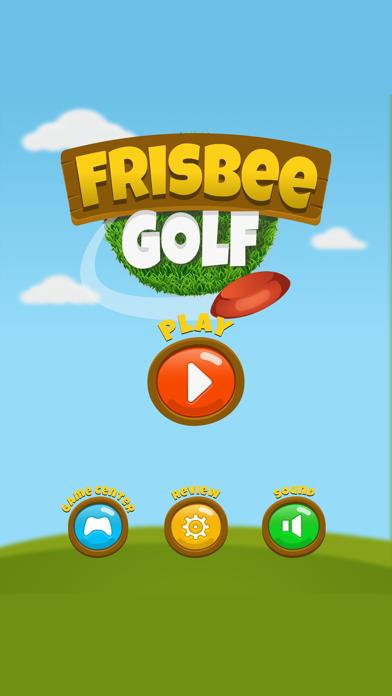 Frisbee Golf screenshot one