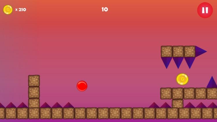Red Ball Jumping Bounce screenshot-3