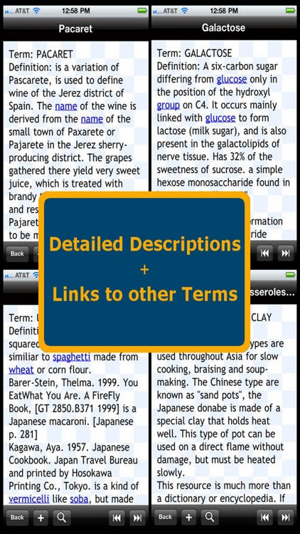 Glossary of Food Science Terms screenshot-0