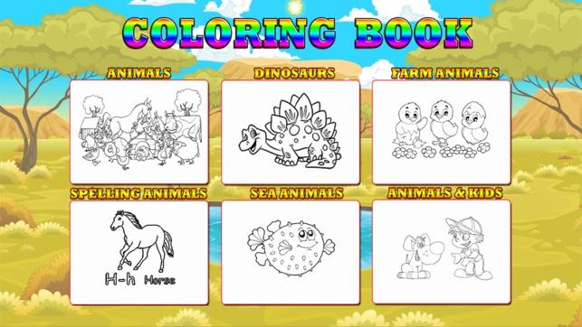 48 Animali Libri Da Colorare Su App Store