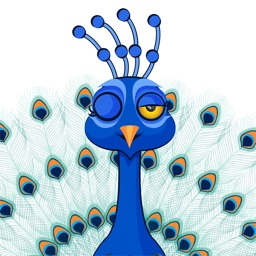 Peacock - Stickers for iMessage