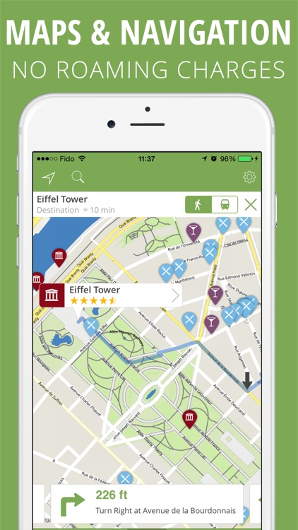mTrip Travel Guides (offline maps and directions) screenshot-3