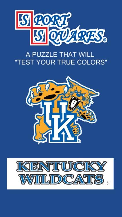 Kentucky Wildcats Sport Squares