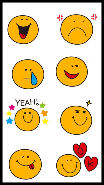 Cute Orange Emoji Stickers screenshot-3