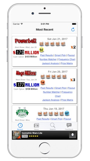 Results for CT Lottery - Connecticut Lotto on the App Store