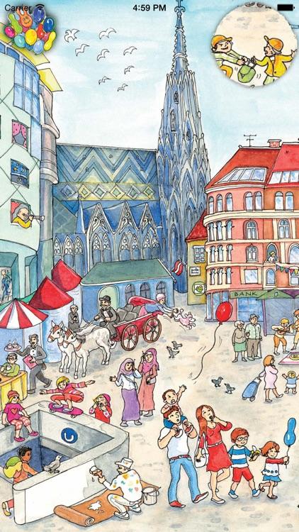 Vienna Wimmelbook App