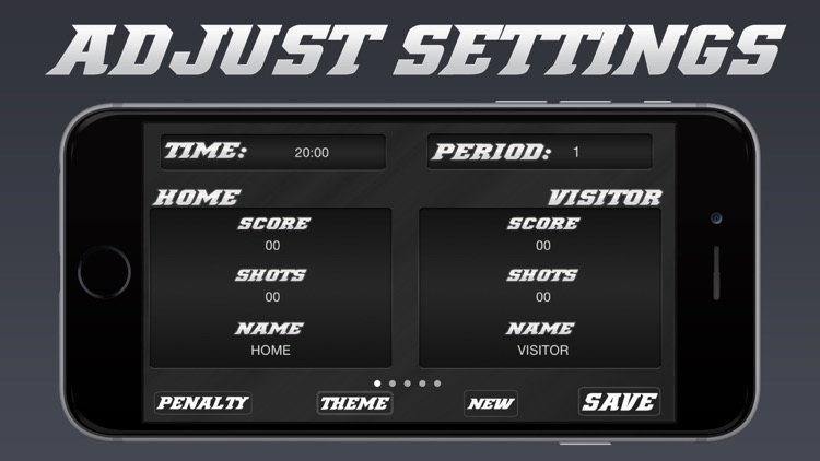 Hockey Scoreboard - Universal Hockey Scorekeeping screenshot-4