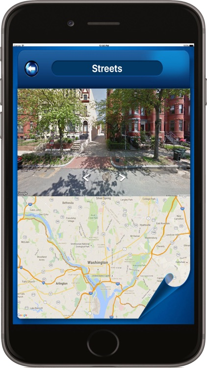 Washington D.C. DC USA - Offline Maps Navigator