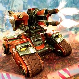 Metal Shooting War: Tanks vs Robots