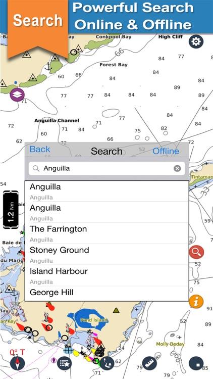 Anguilla Charts For Navigation