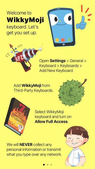 Witty WikkyMoji Keyboardのおすすめ画像1