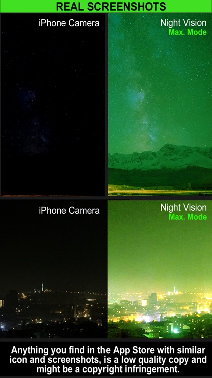 Night Vision Camera (Photo & Video) screenshot-3