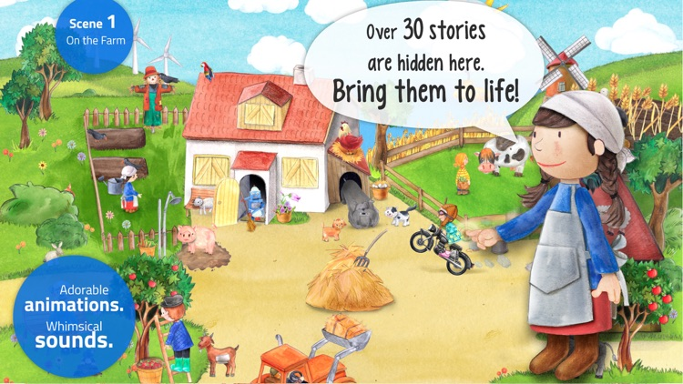 Tiny Farm: Toddler Games 2+