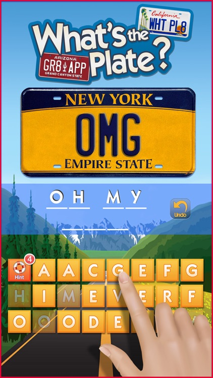 What's the Plate? - License Plate Game