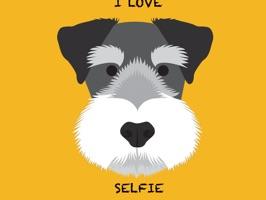 Dogs Selfie - Redbubble sticker pack