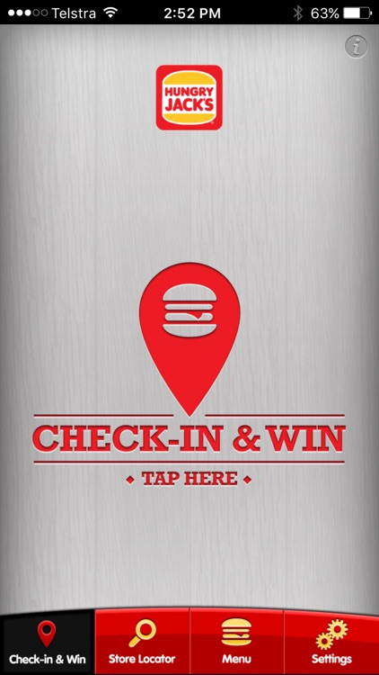 Hungry Jack's® Shake & Win App