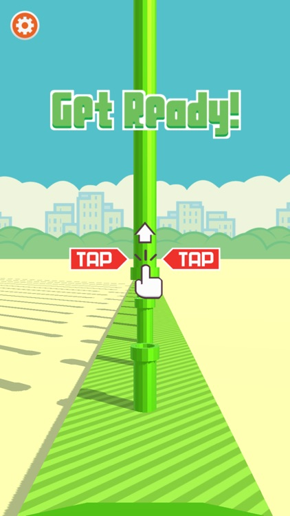 Flappy 3D - Bird's Eye View