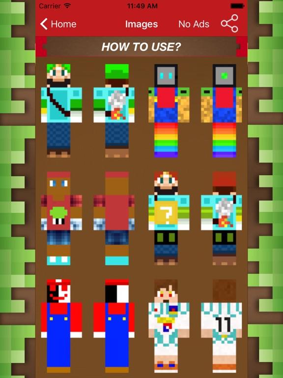 New Skin For Minecraft PE For Super Mario Fans App Price Drops - Skins para minecraft pe de bebe