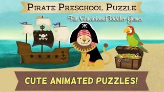 海盜學齡前拼圖– 適合男孩女孩的趣味教育幼兒遊戲和學校活動屏幕截圖1