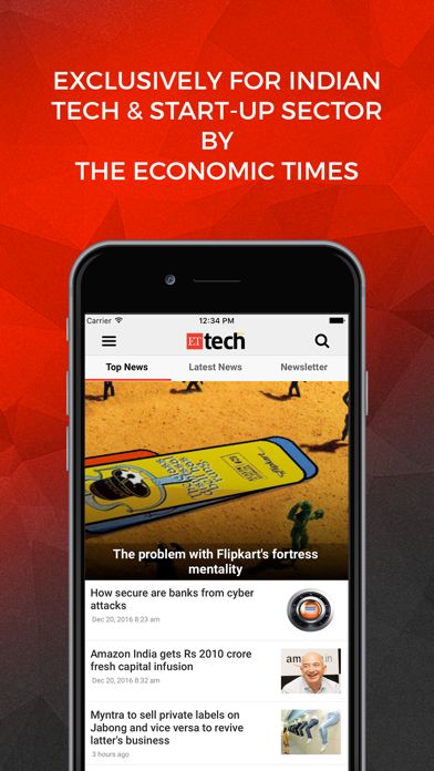 ETtech - by The Economic Times Screenshot