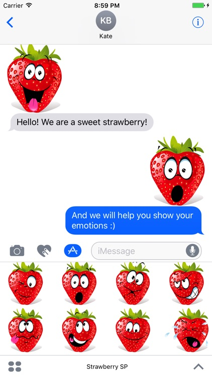 Strawberry SP emoji screenshot-3