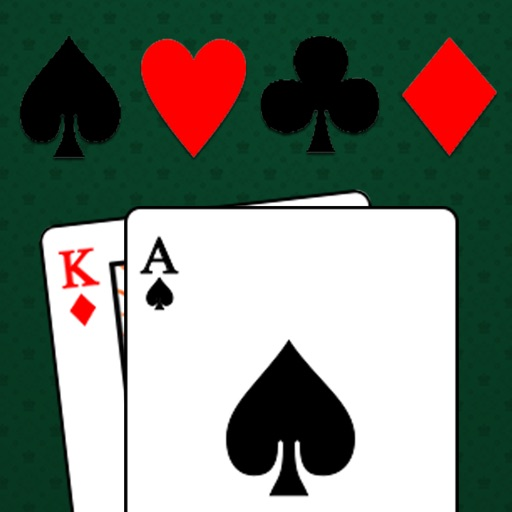 Blackjack Trainer - Casino Card Game Counting 21 app logo