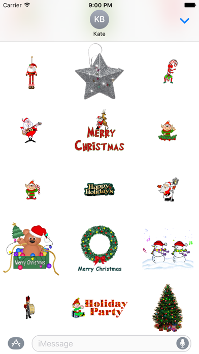 Animated Christmas Stickers for iMessageScreenshot of 3