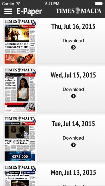 Times of Malta
