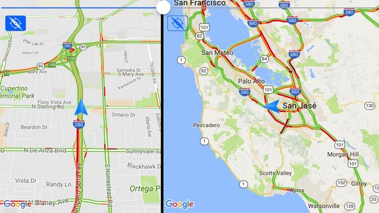 Traffic Maps Pro: live info