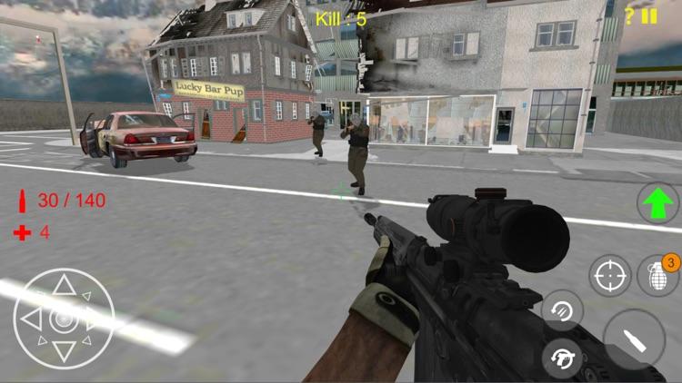 Terrorist Shooting Strike Game
