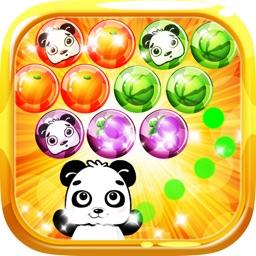 Panda Shoot Bubble Fruits