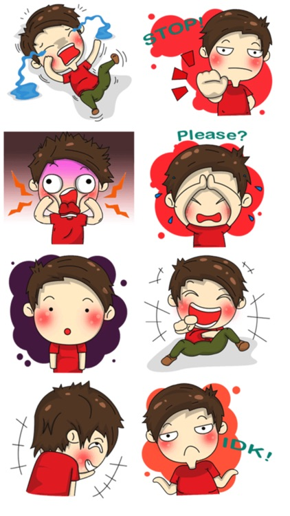 Funny Teen Stickers