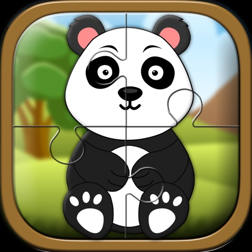 Baby Panda Jigsaw Puzzle Town