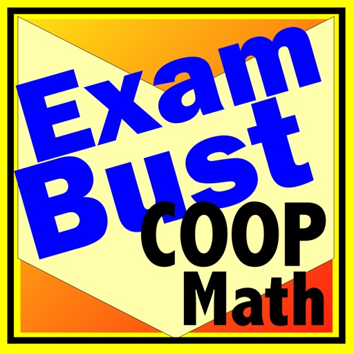 COOP HSPT Math Prep Flashcards Exambusters