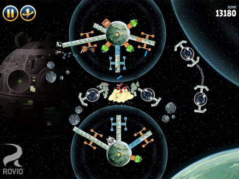Angry Birds Star Wars HD Screenshot