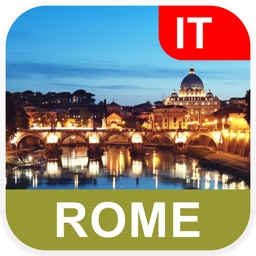 Rome, Italy Offline Map - PLACE STARS