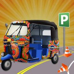 Tuk Tuk Auto Rickshaw Parking 3D Simulation