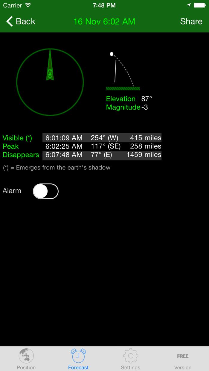ISS Spotter Screenshot
