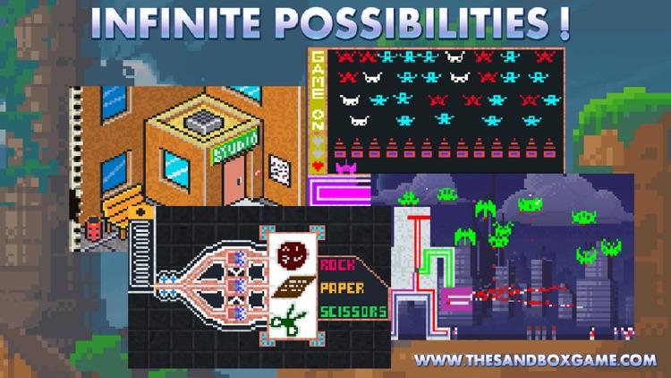The Sandbox - Building & Crafting a Pixel World! screenshot-4